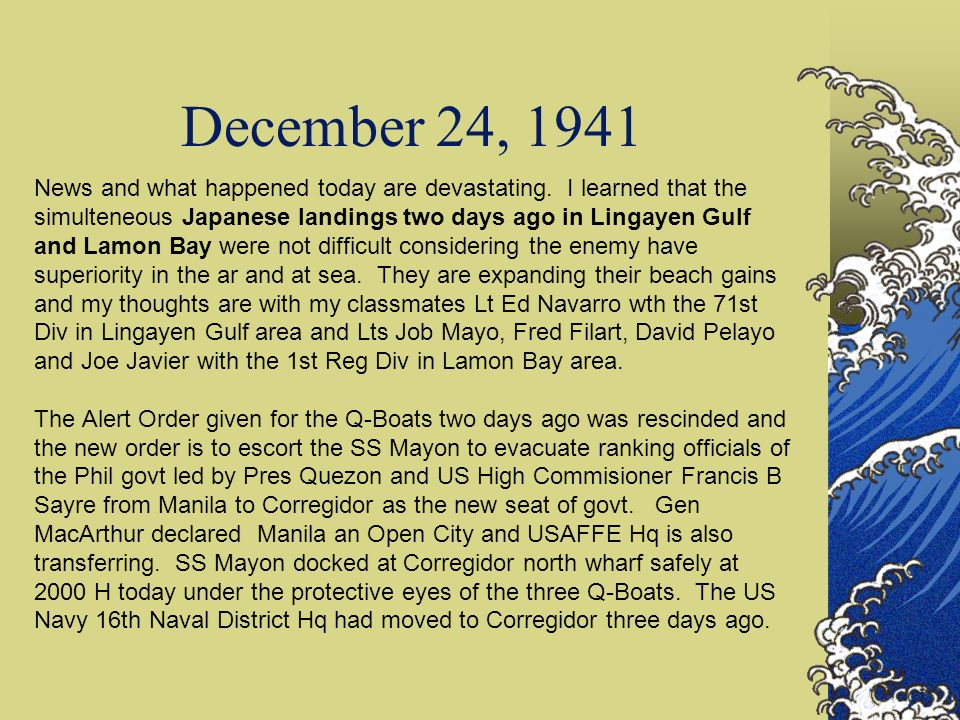 December 24, 1941
