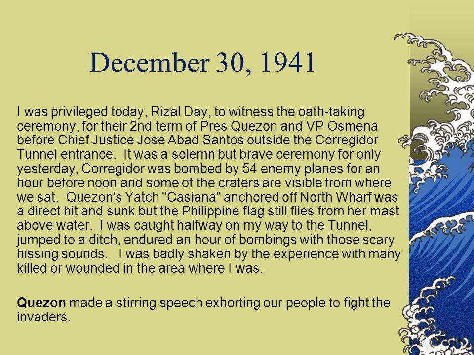 December 30, 1941
