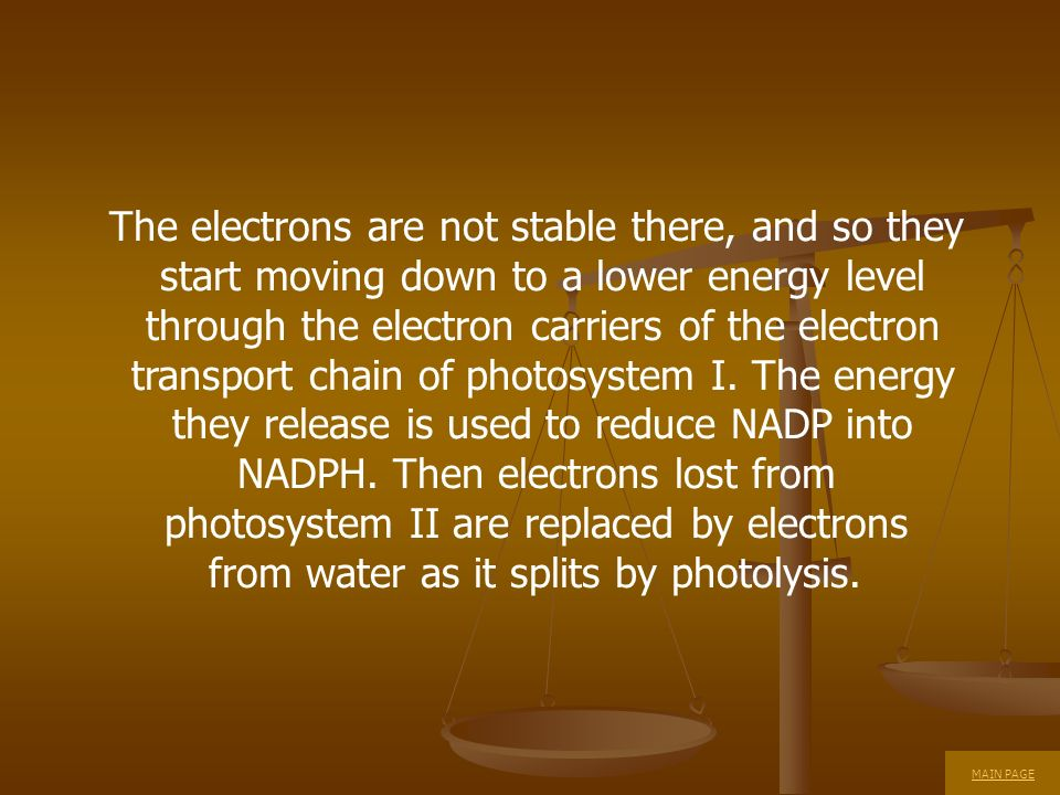 The electrons are not stable there, and so they
