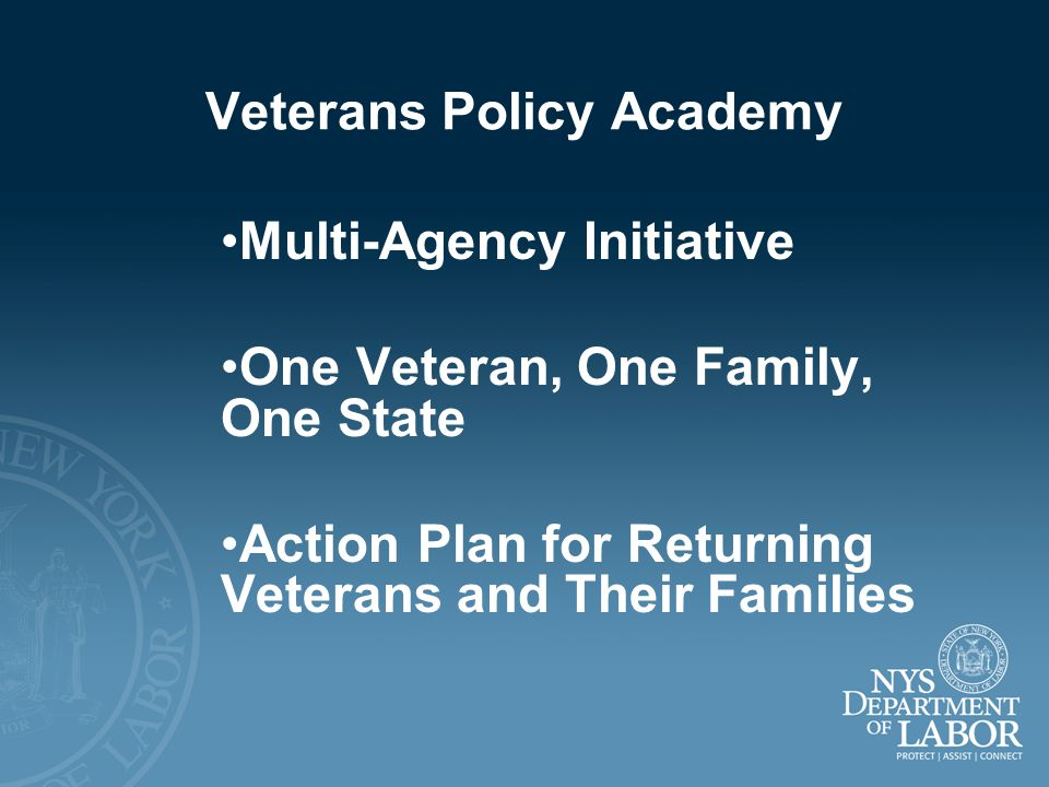 Veterans Policy Academy