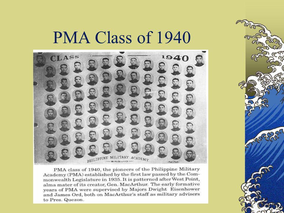 PMA Class of 1940