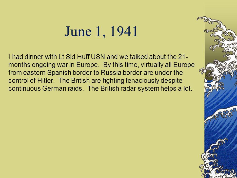 June 1, 1941