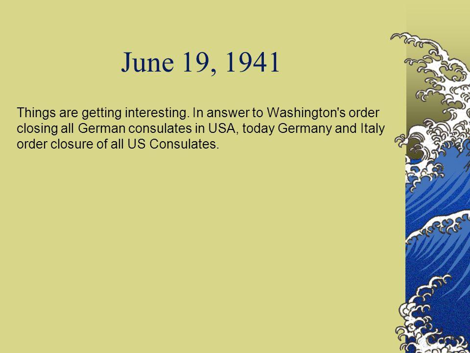 June 19, 1941