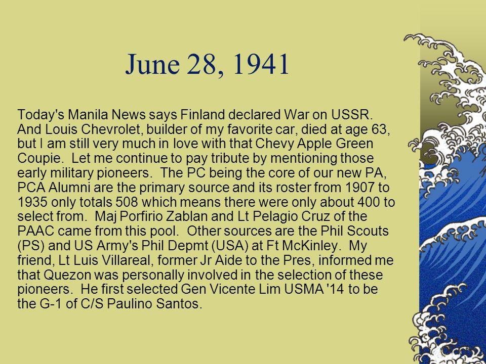 June 28, 1941
