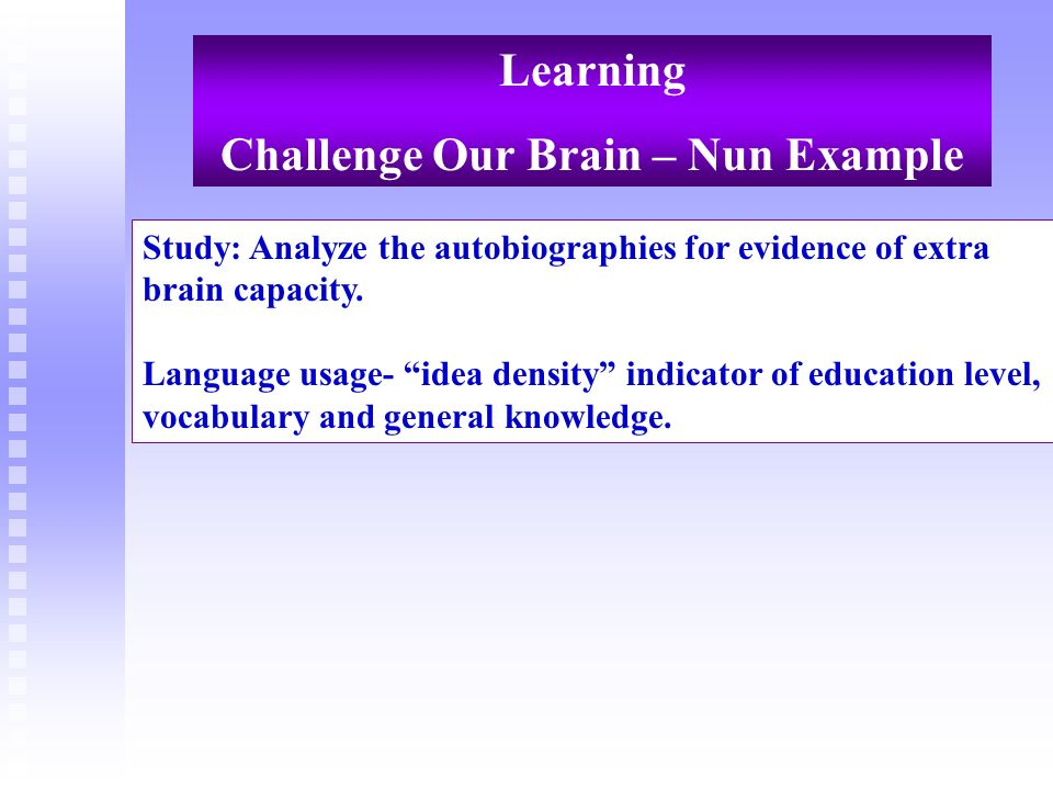 Challenge Our Brain – Nun Example
