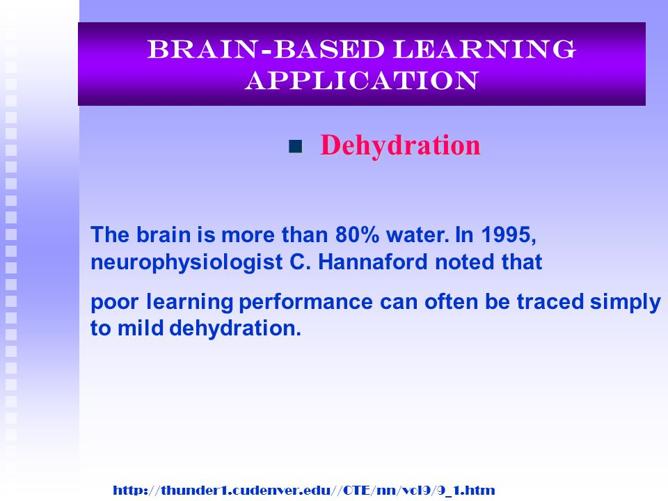 Brain-Based Learning Application