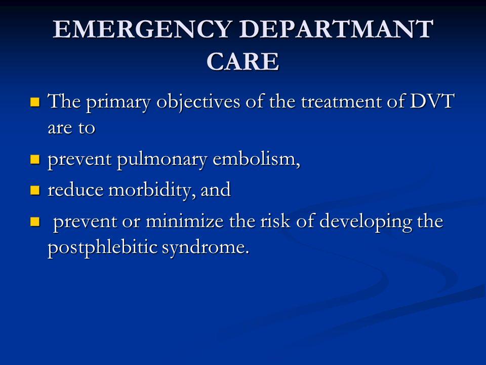 EMERGENCY DEPARTMANT CARE