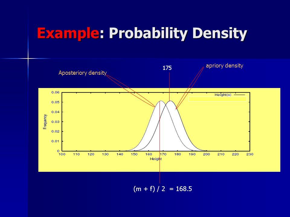 Example: Probability Density