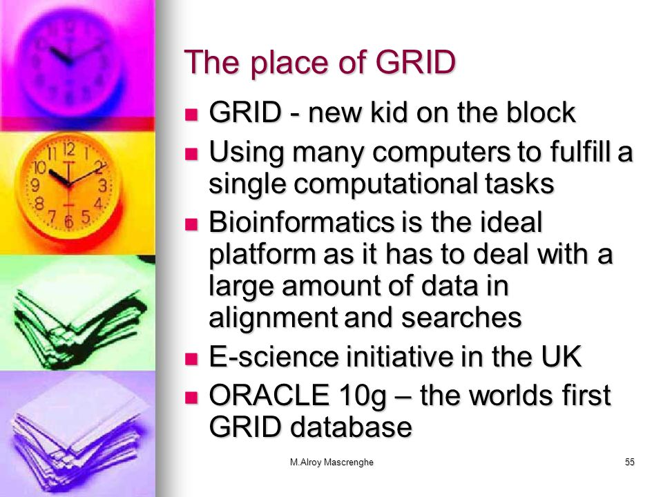 The place of GRID GRID - new kid on the block