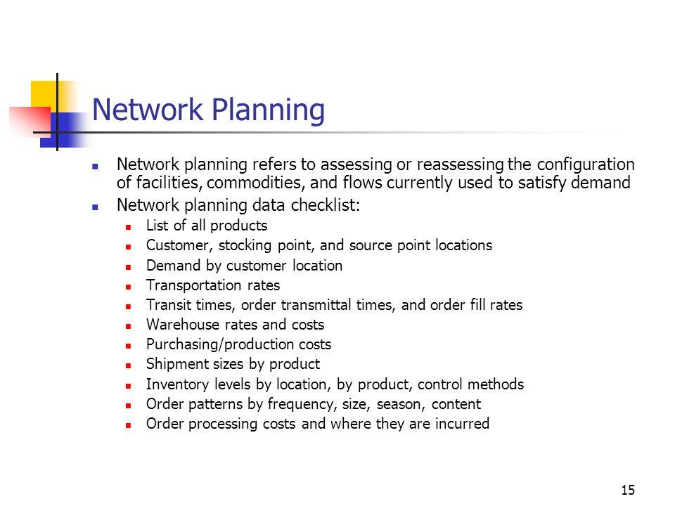 Network Planning