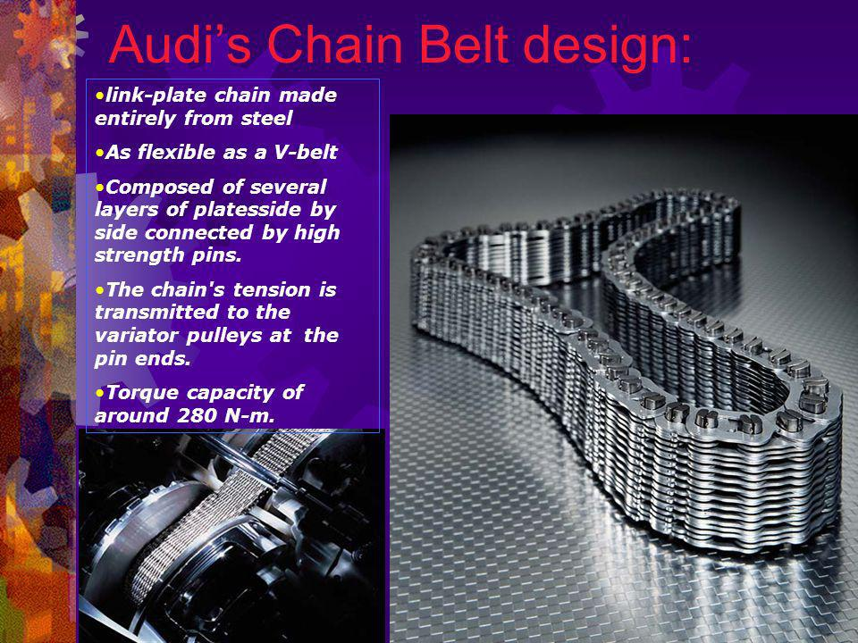 Audi's Chain Belt design: