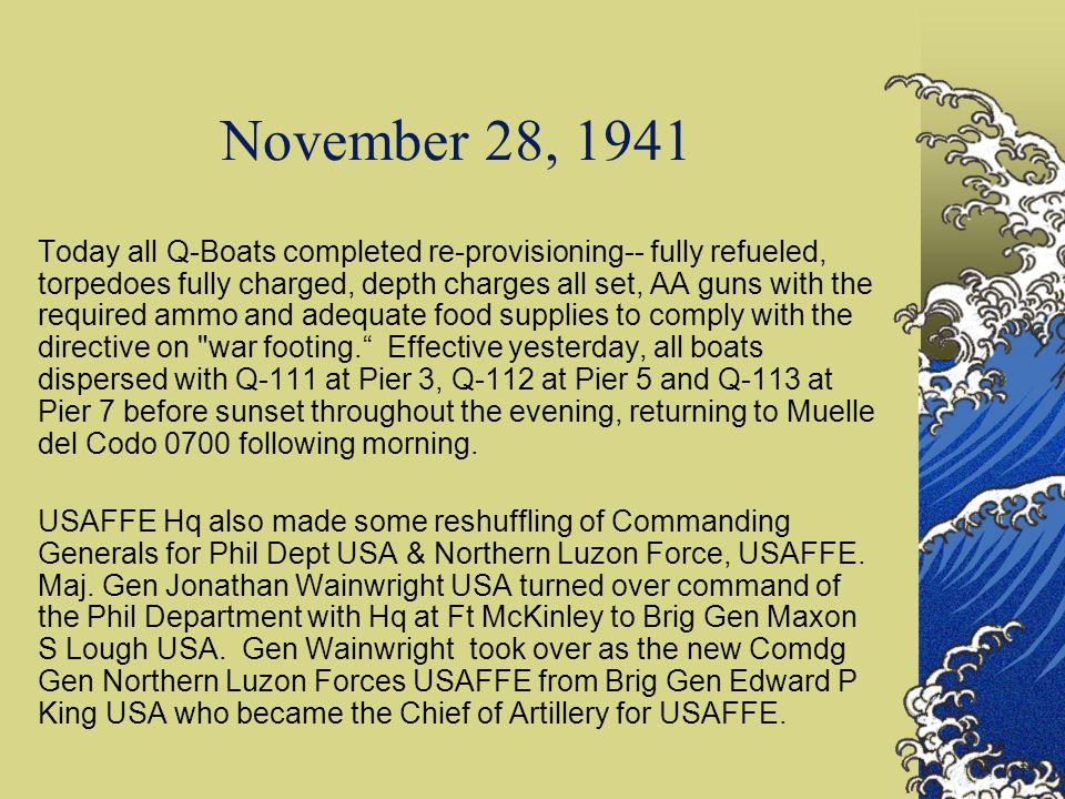 November 28, 1941