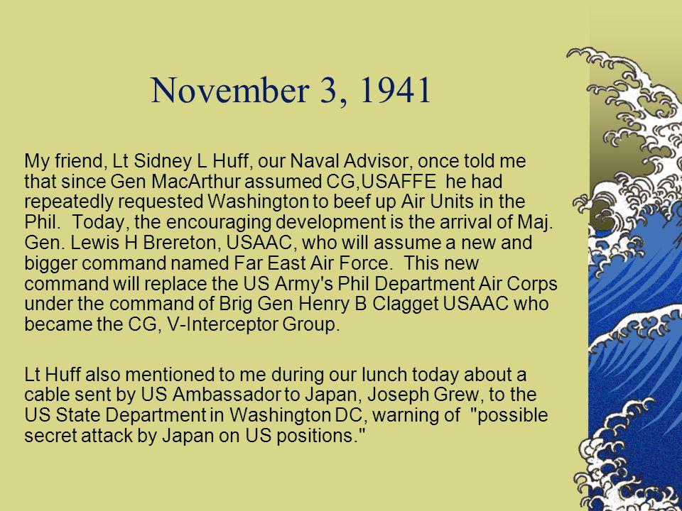 November 3, 1941