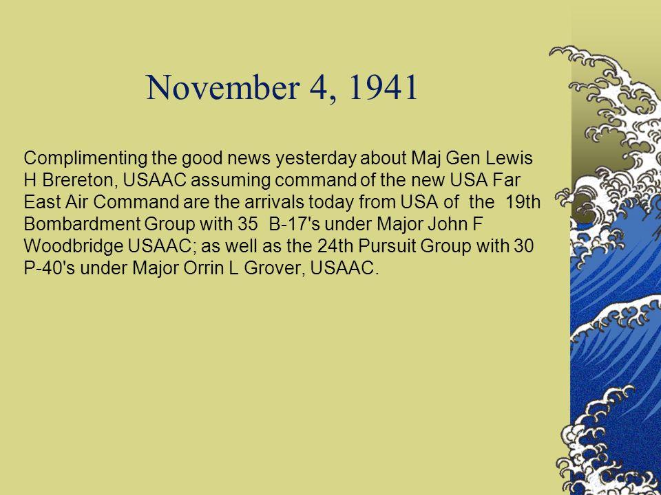 November 4, 1941