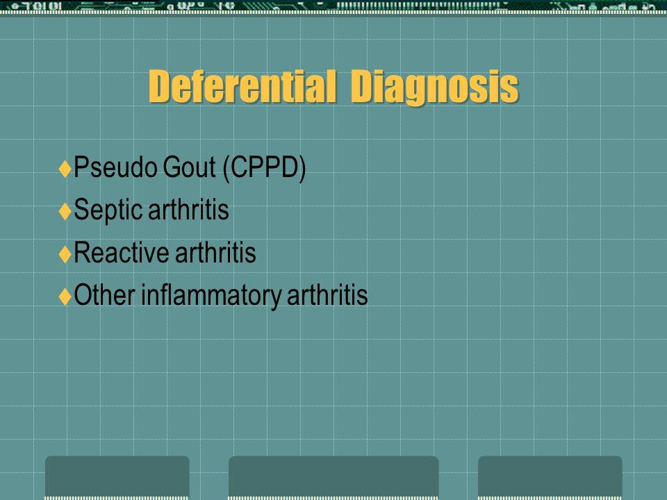 Deferential Diagnosis