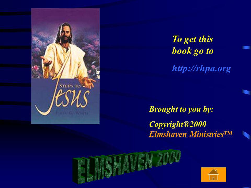 ELMSHAVEN 2000 To get this book go to