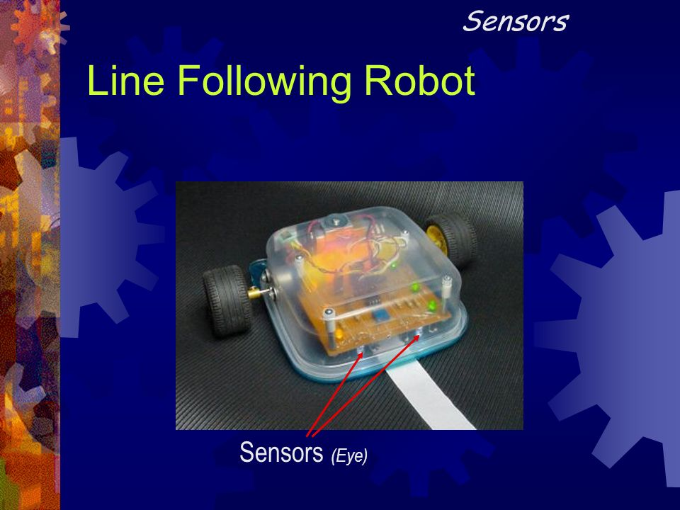 Sensors Line Following Robot Sensors (Eye)