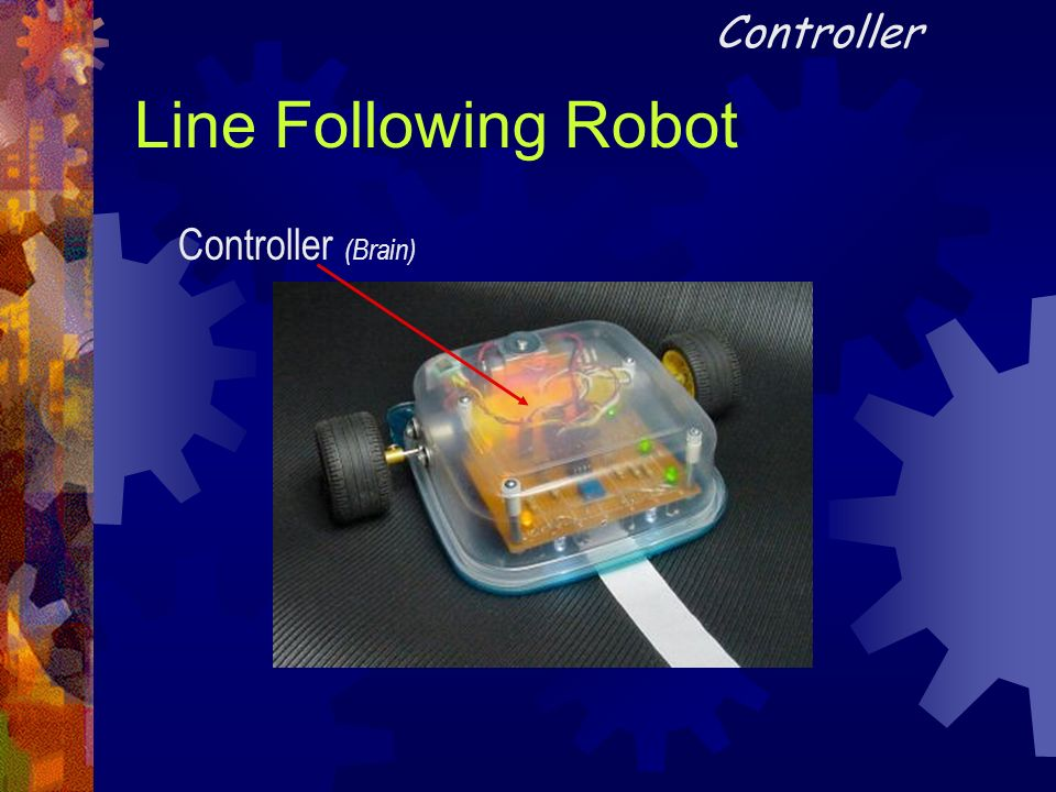 Controller Line Following Robot Controller (Brain)