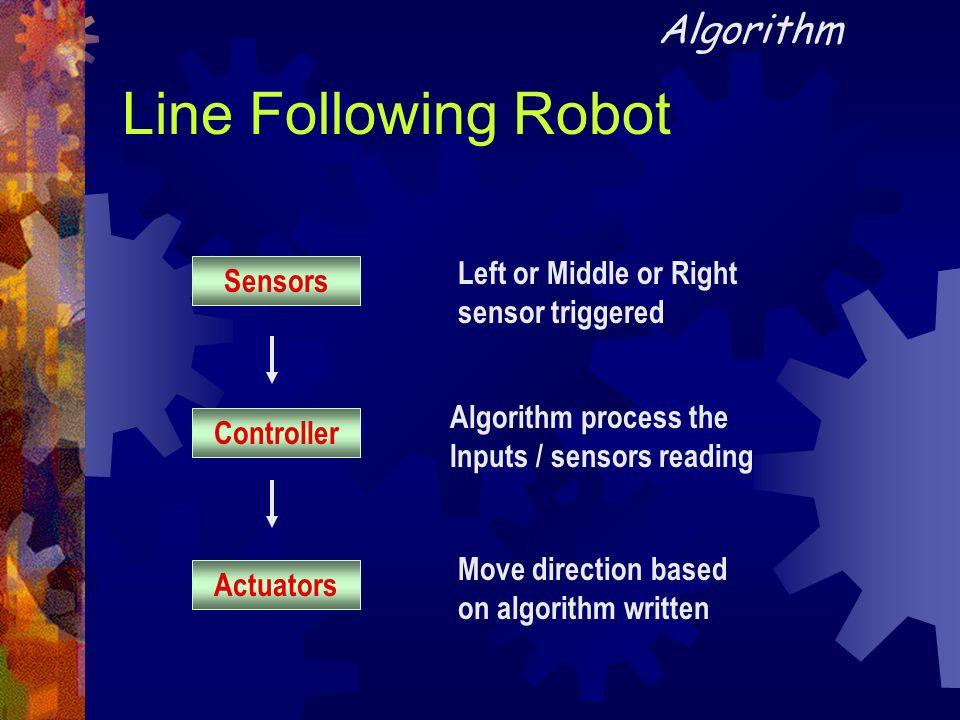 Line Following Robot Algorithm