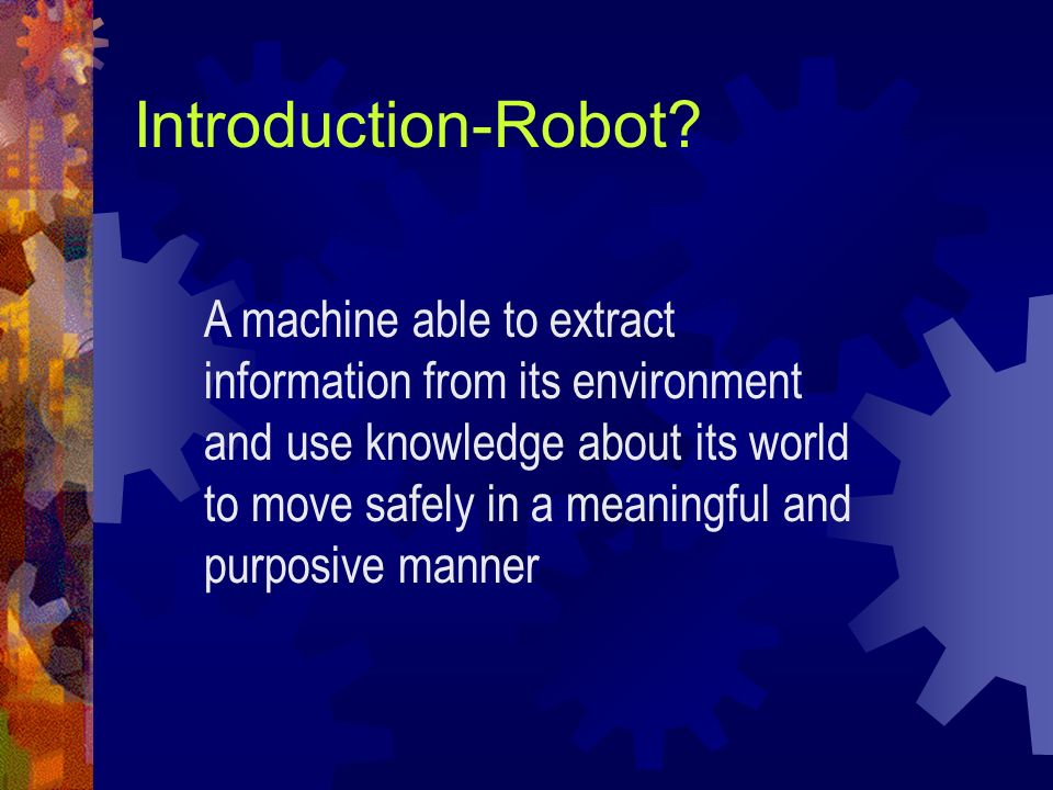 Introduction-Robot
