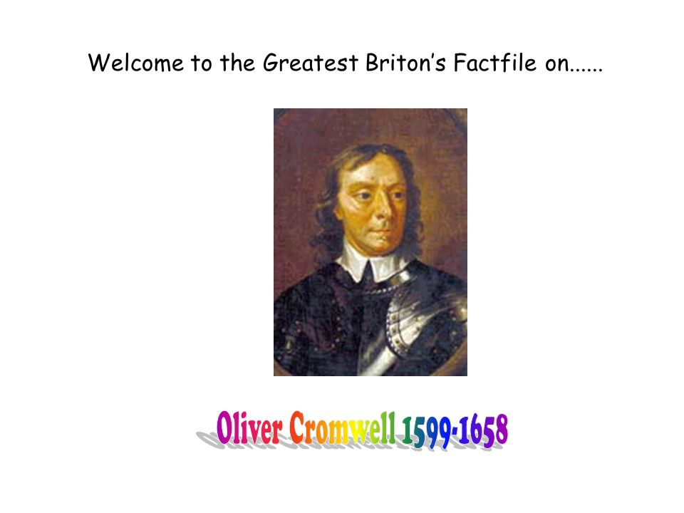 Welcome to the Greatest Briton's Factfile on......