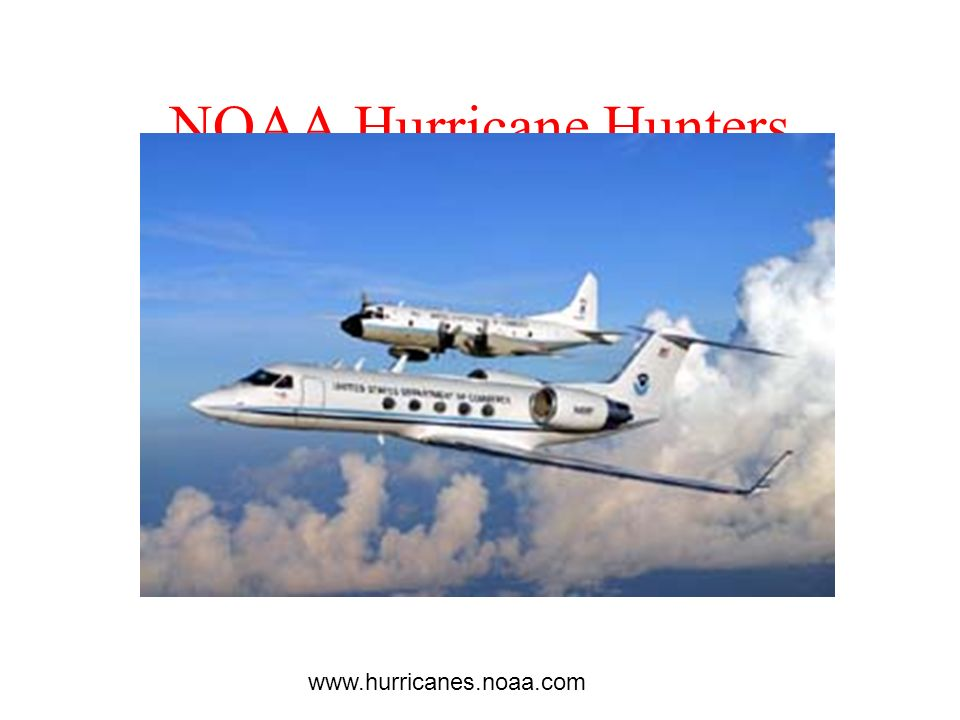 NOAA Hurricane Hunters