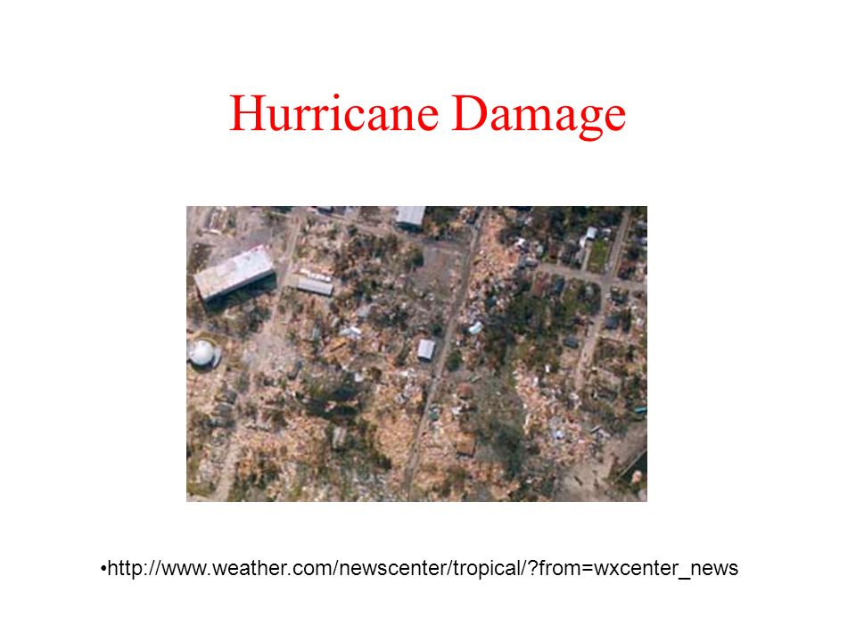 Hurricane Damage   from=wxcenter_news