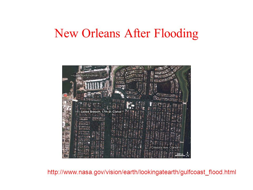 New Orleans After Flooding