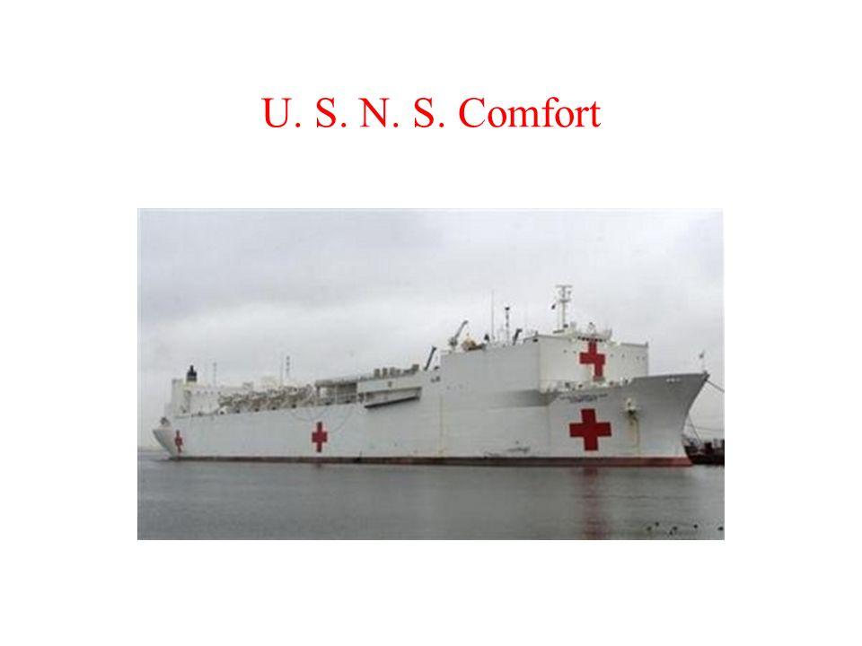 U. S. N. S. Comfort
