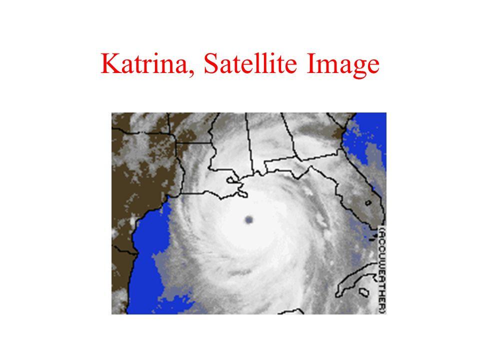 Katrina, Satellite Image
