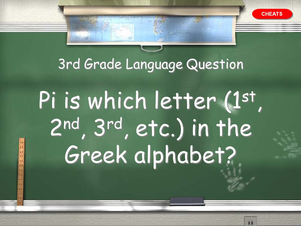 3rd Grade Language Question
