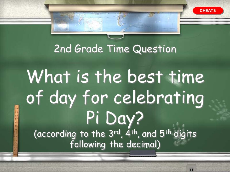 What is the best time of day for celebrating Pi Day