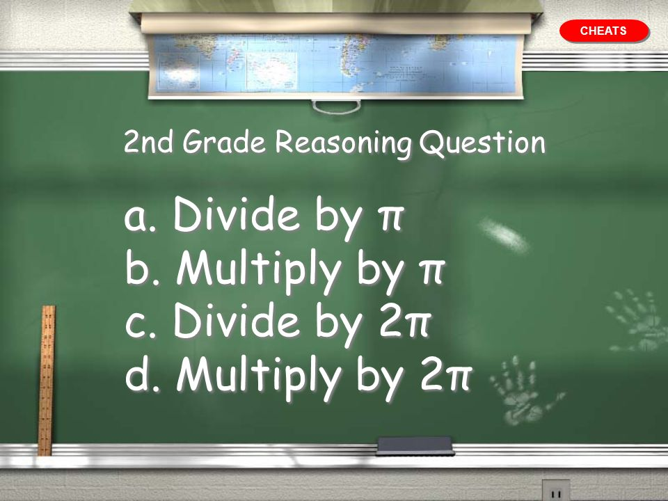 2nd Grade Reasoning Question
