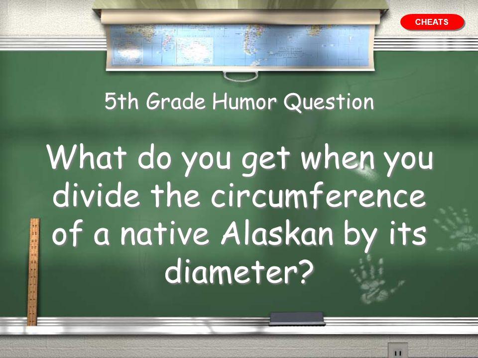 5th Grade Humor Question