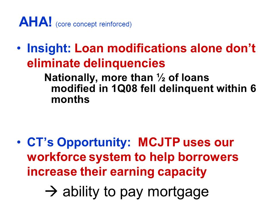  ability to pay mortgage