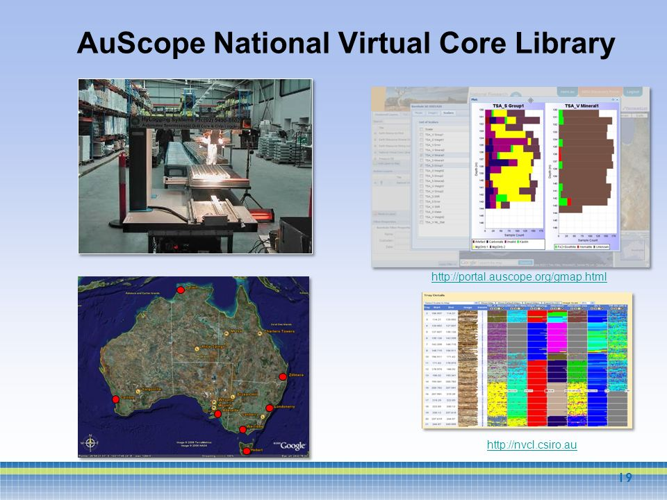 AuScope National Virtual Core Library