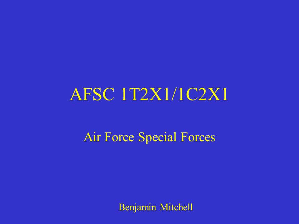 Air Force Special Forces
