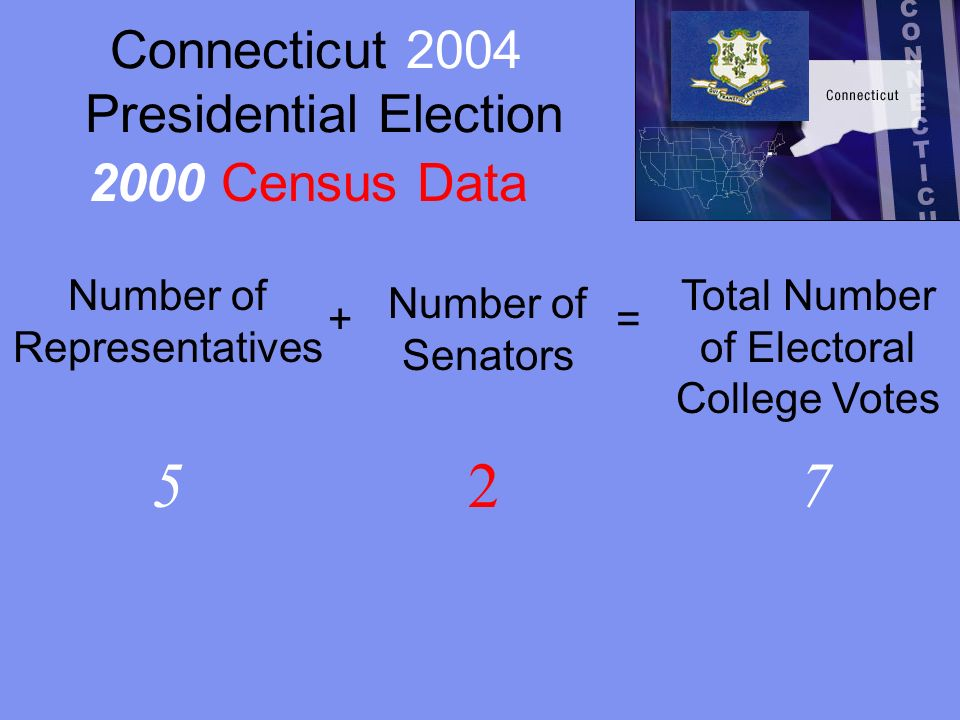 Connecticut 2004 Presidential Election