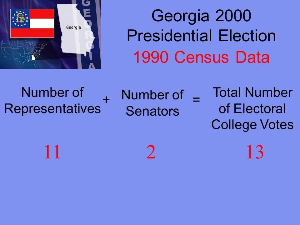 Georgia 2000 Presidential Election