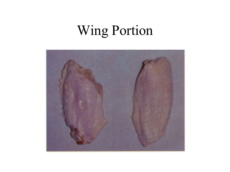 Wing Portion