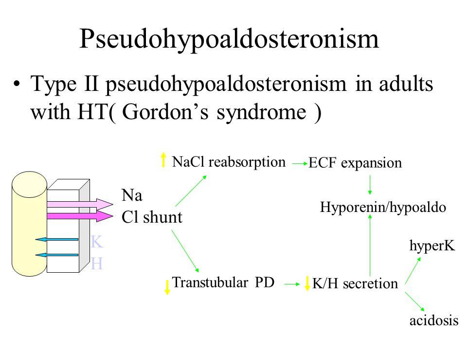 Pseudohypoaldosteronism