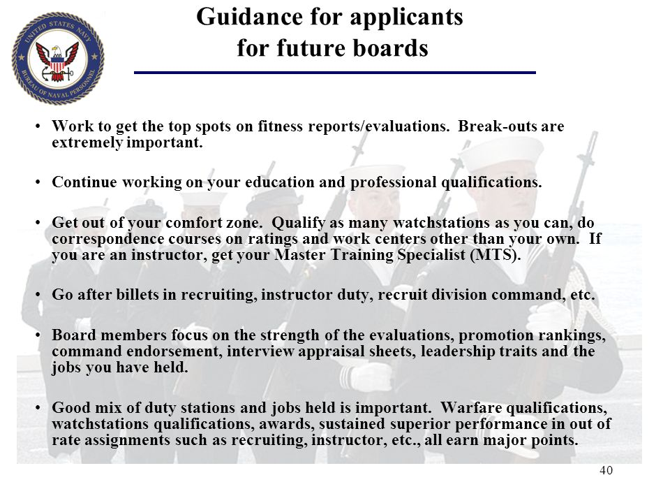 Guidance for applicants for future boards