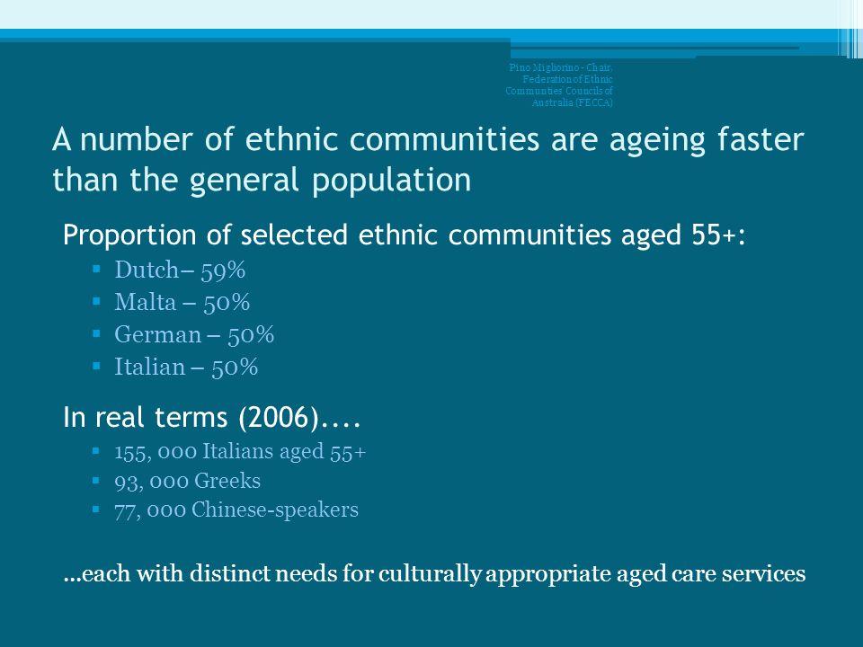 Pino Migliorino - Chair, Federation of Ethnic Communties Councils of Australia (FECCA)