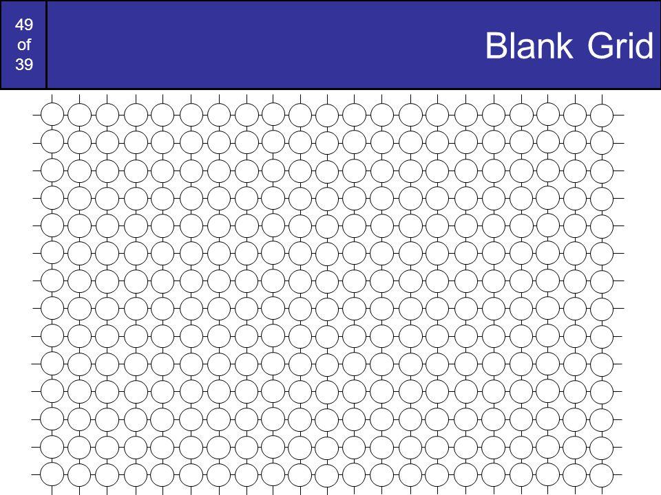 Blank Grid
