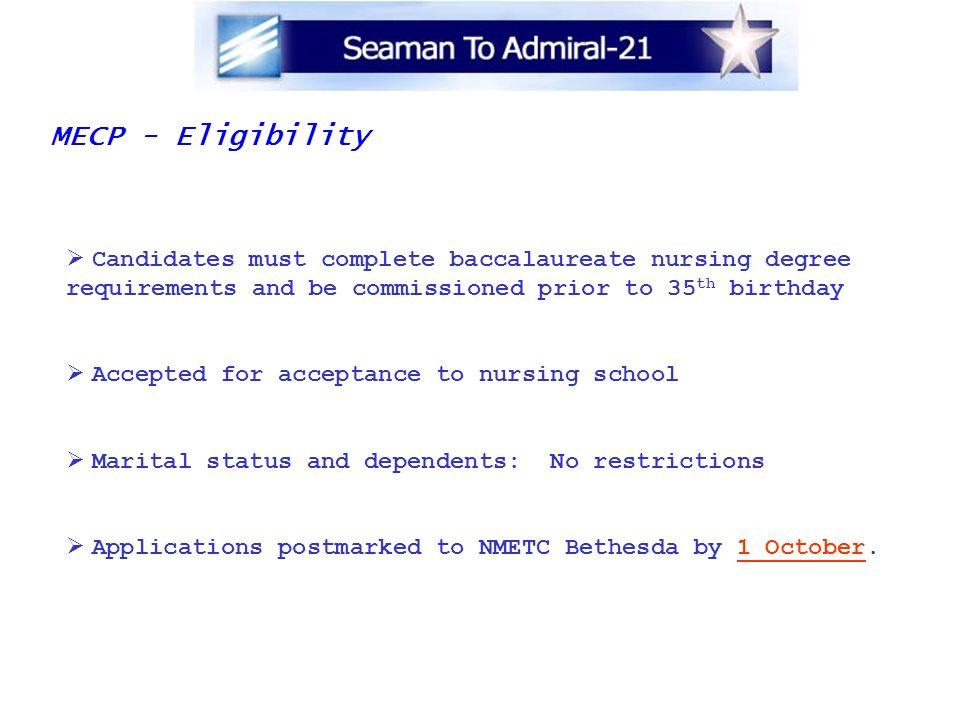 MECP - Eligibility