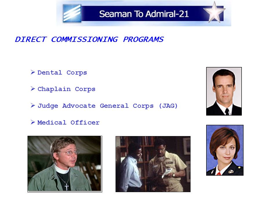 DIRECT COMMISSIONING PROGRAMS