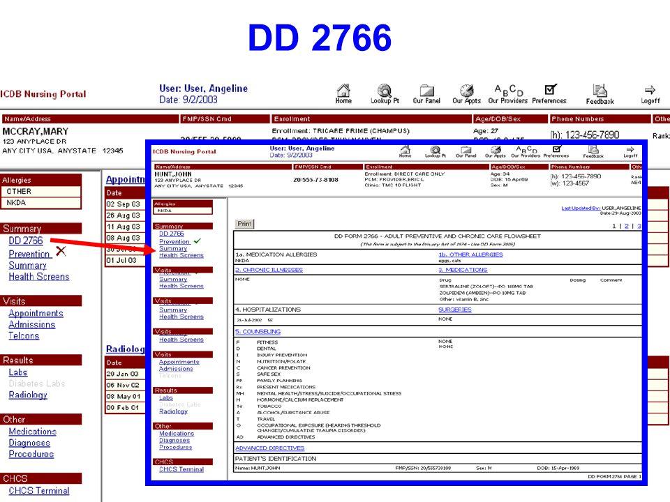 DD 2766