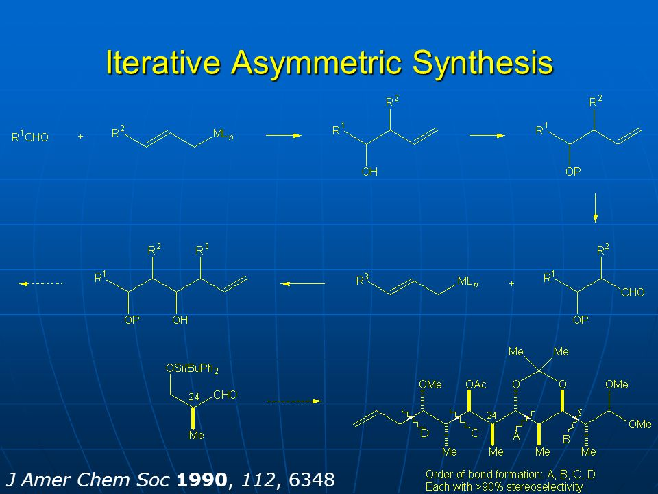 Iterative Asymmetric Synthesis