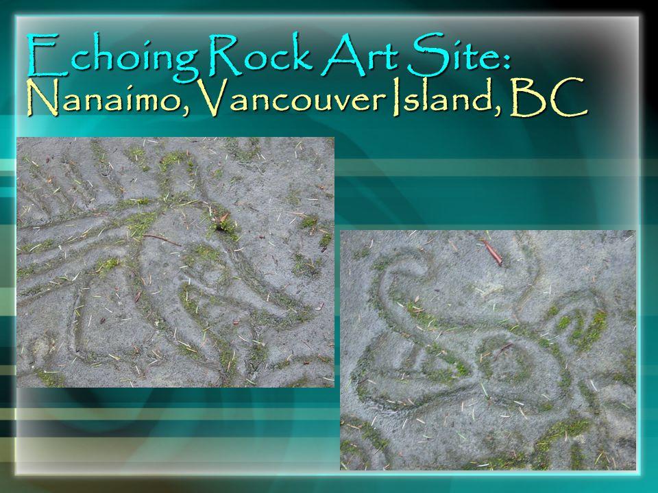 Echoing Rock Art Site: Nanaimo, Vancouver Island, BC
