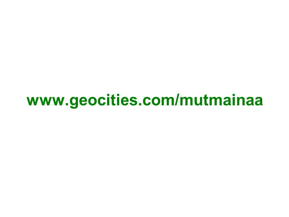 www.geocities.com/mutmainaa